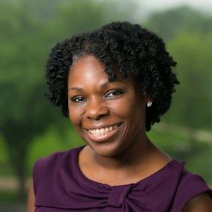 Aretha Robinson, Associate Vice President for Client Services at Van Scoyoc Associates