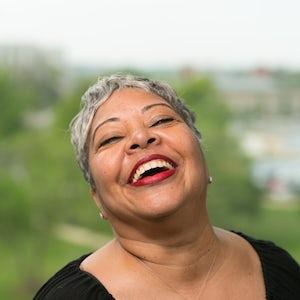 Beverly Brown, Receptionist at Van Scoyoc Associates